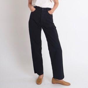 black jesse kamm handy pants